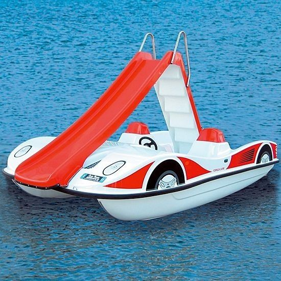 Pedal Boat 5 Person Slide - 207623 Nauticexpio.com