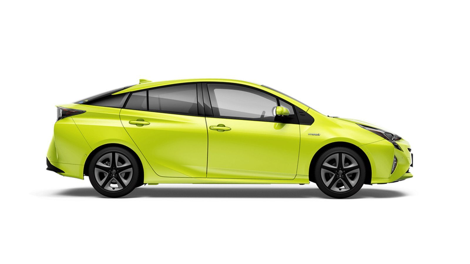 Toyota S Weird Bright Green Prius Uses Science To Stay Cooler In