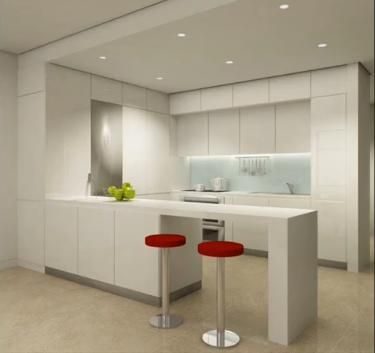 Decoración Minimalista y Contemporánea Cocinas minimalistas - cocinas pequeas minimalistas