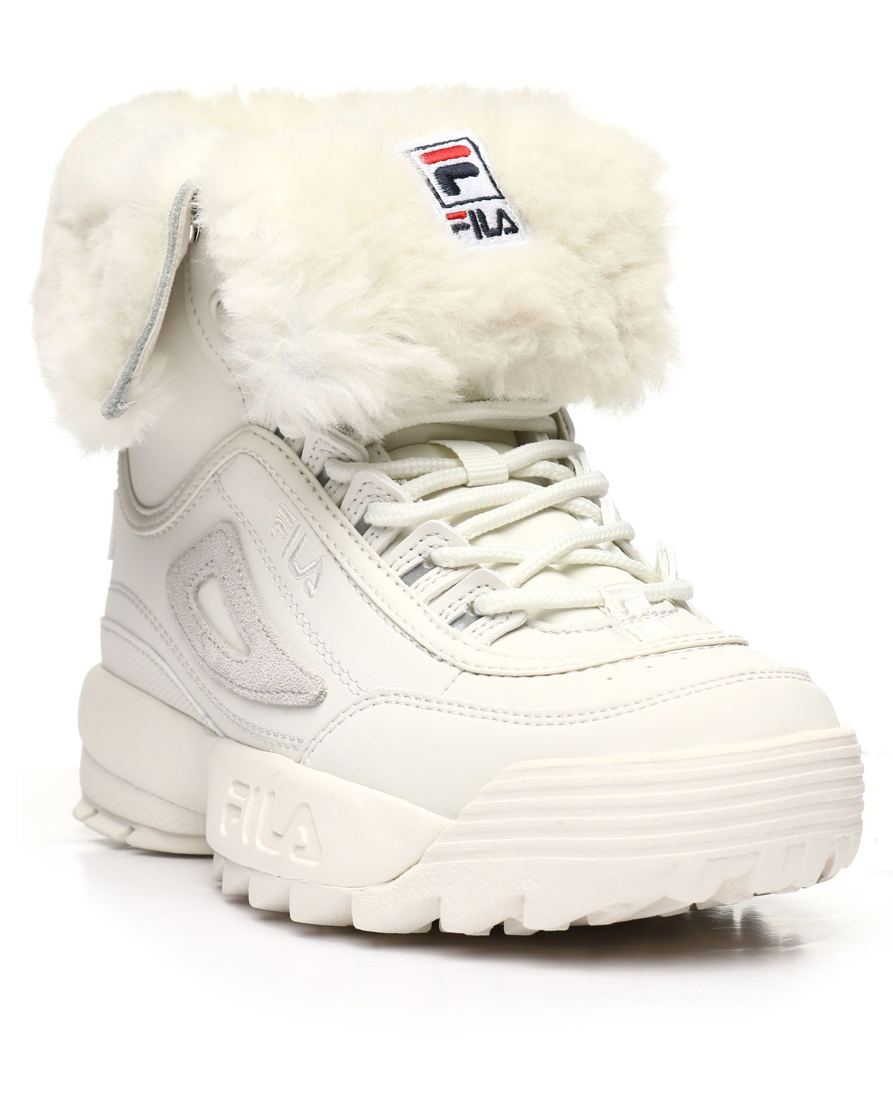 Disruptor Shearling Boots from Fila at