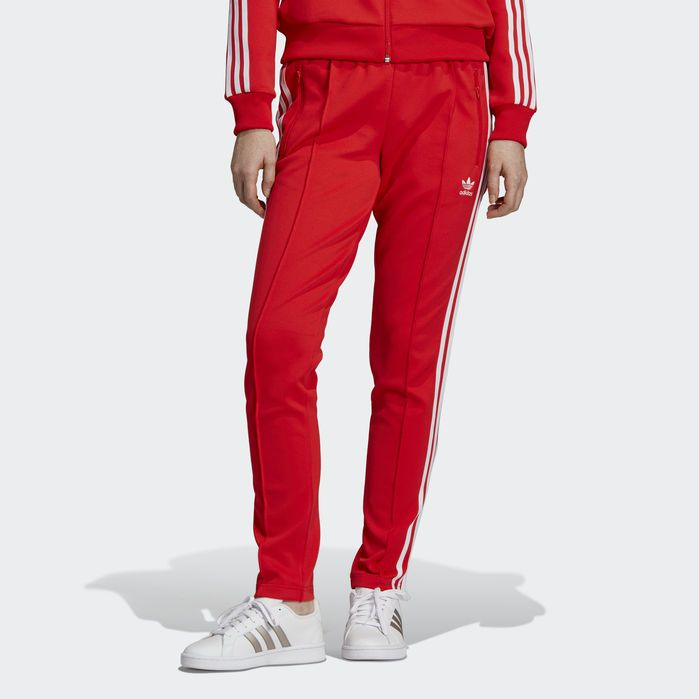 adidas x Fiorucci W training pants red