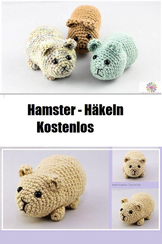 Diy Hamster Häkeln Amigurumis Häkeln Häkeln Anleitung Und