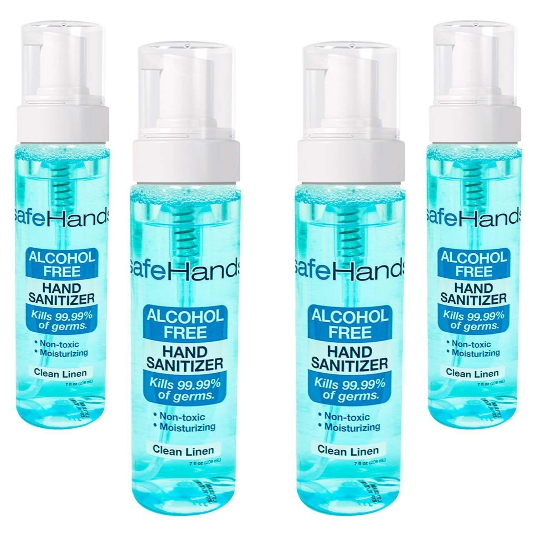 SafeHands no1 Alcohol Free Foam Hand Sanitizer Brand