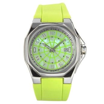 Relojes Flúor Officina del Tempo  http://www.tutunca.es/reloj-verde-race-ace-esfera-nacarada