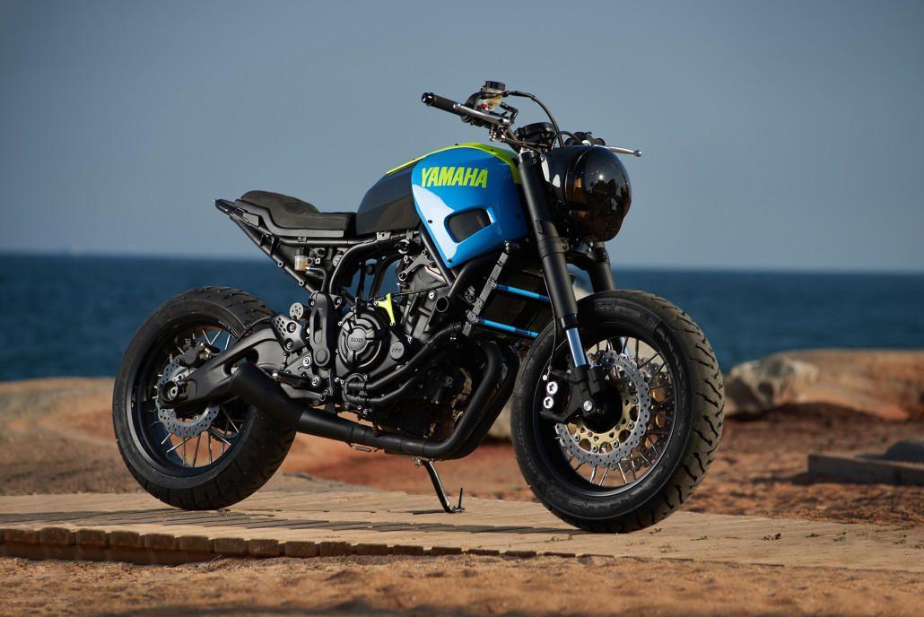 Yamaha Yard Built XSR700 Otokomae