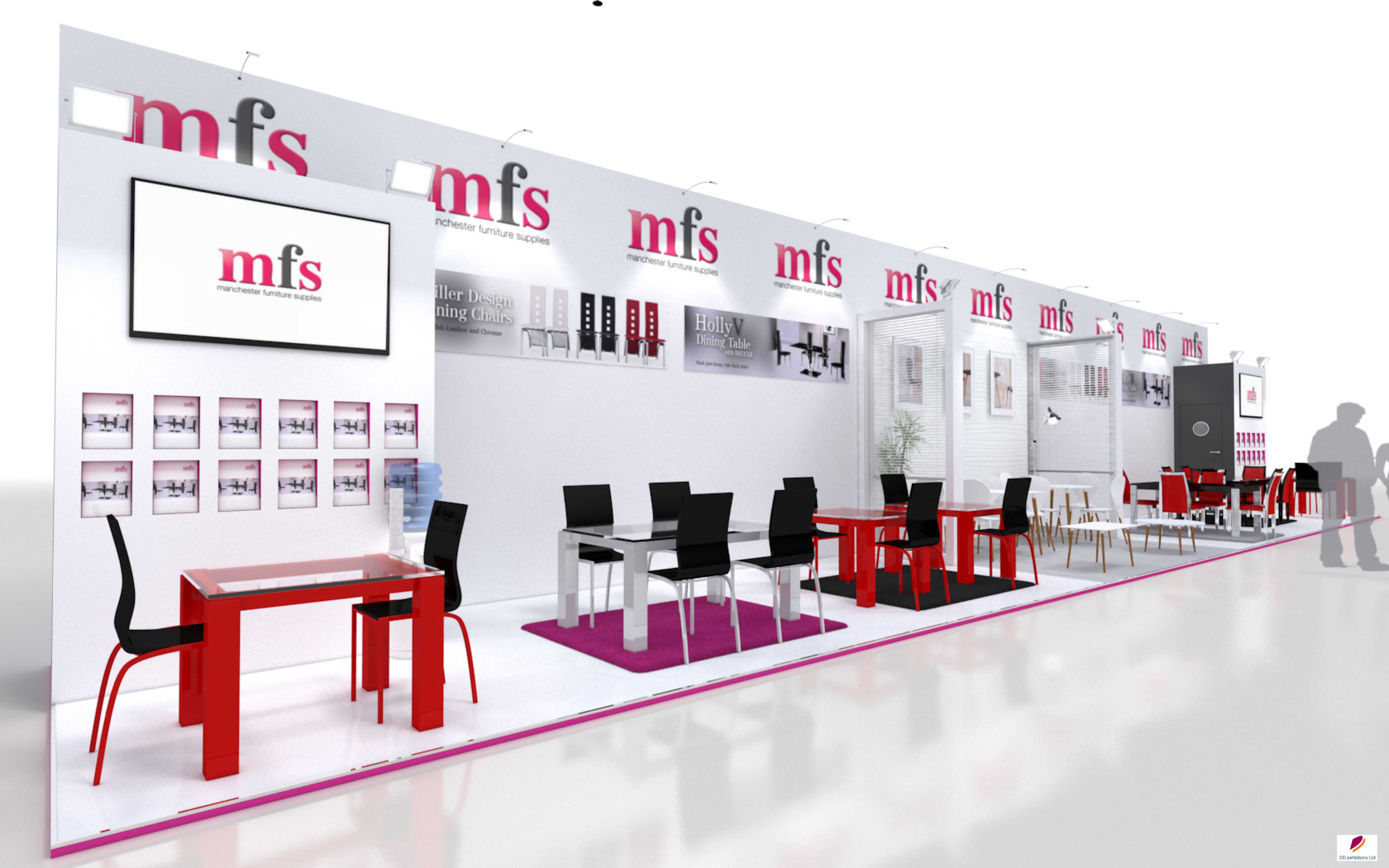 Stand design created for Manchester Furniture Supplies for ...
