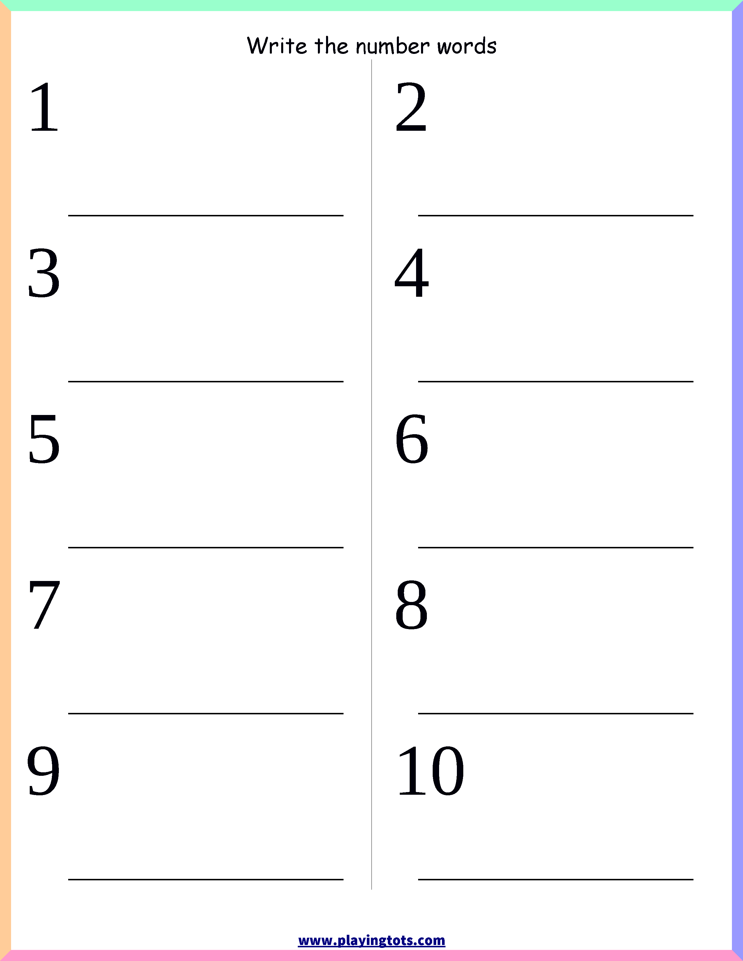 medium resolution of Kindergarten Worksheet Pdf - Kindergarten