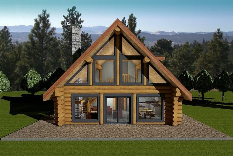 Terrific Horseshoe Bay Log House Plans Log Cabin Bc Canada Download Free Architecture Designs Estepponolmadebymaigaardcom