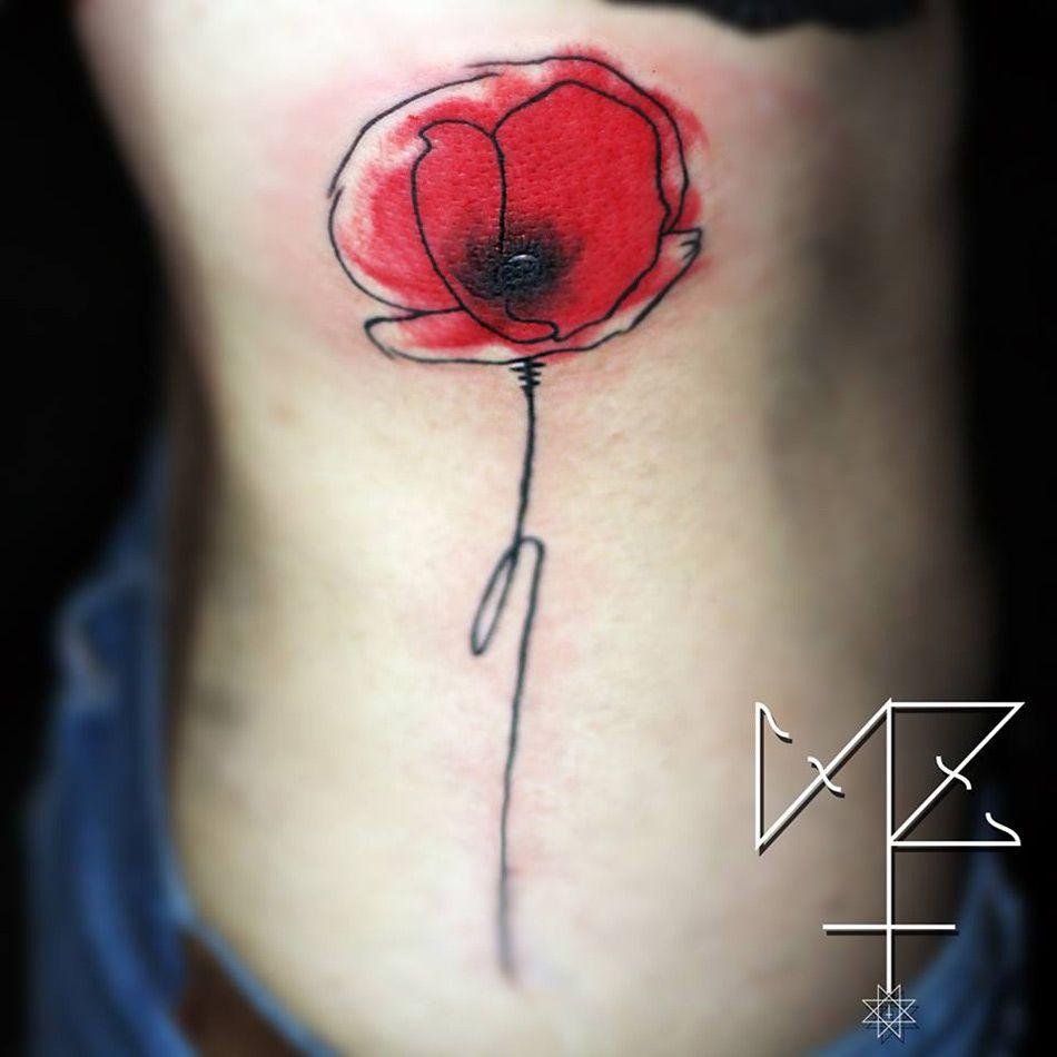 Watercolor Tattoo Mohnblume Google Suche Manner Rucken Tattoos Mohnblumen Tattoo Tattoos Manner