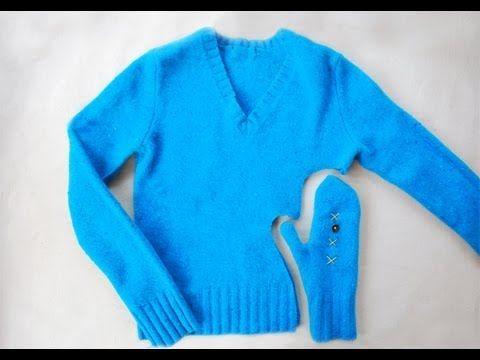 NapadyNavody.sk | Vyrobte si jednoducho a rýchlo rukavice na zimu zo starého svetra (Videonávod)