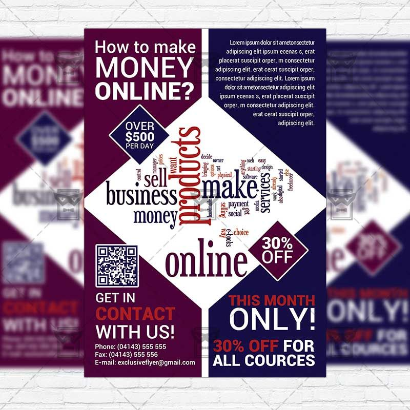 make a flyer online free