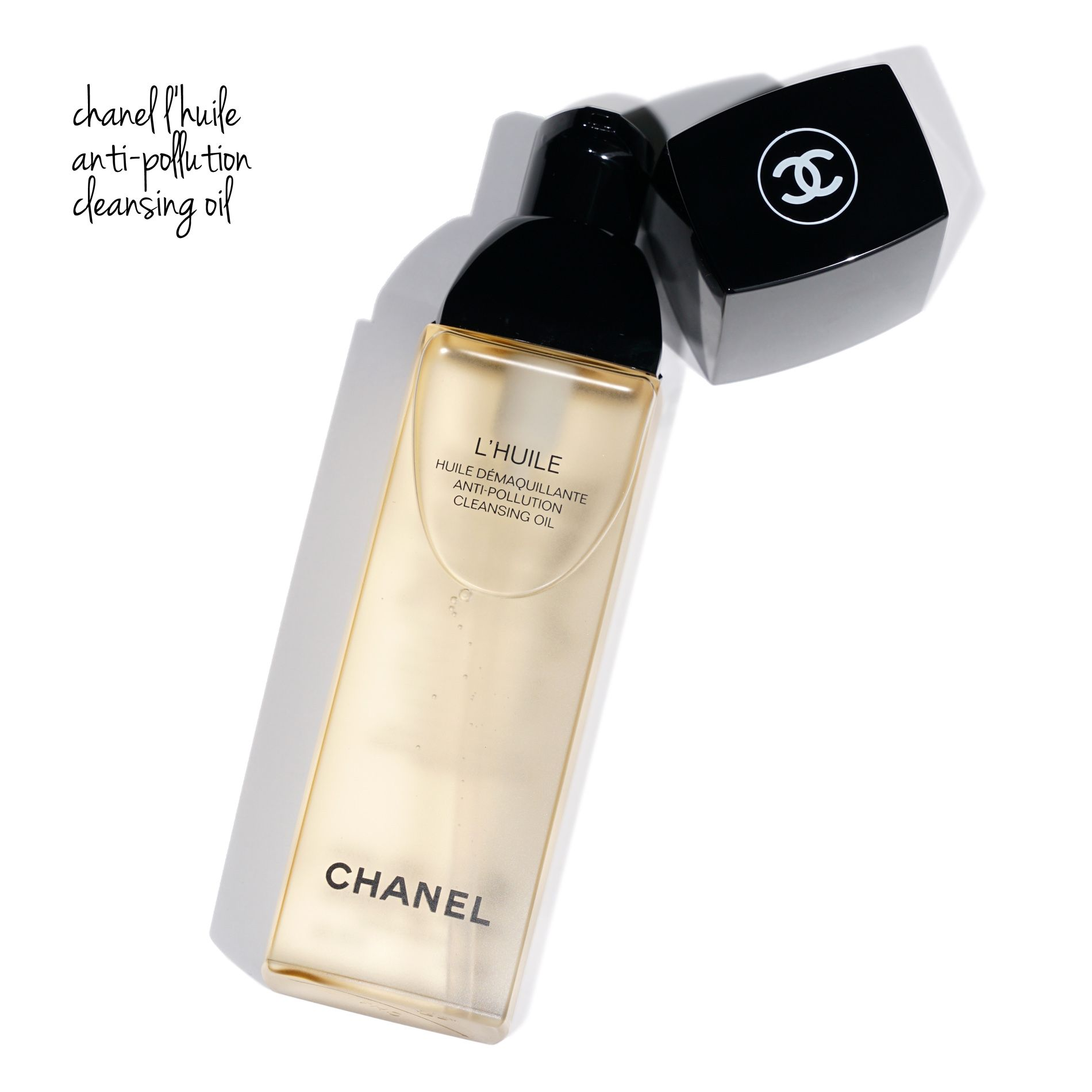Chanel Cleansing Collection Review Cleansing oil, Chanel