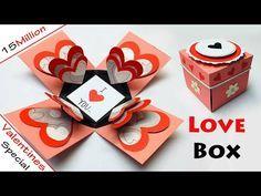 Love Box Card   Love Greeting Cards Latest Design Handmade   I Love You Card Ideas 2021   #76 - YouTube