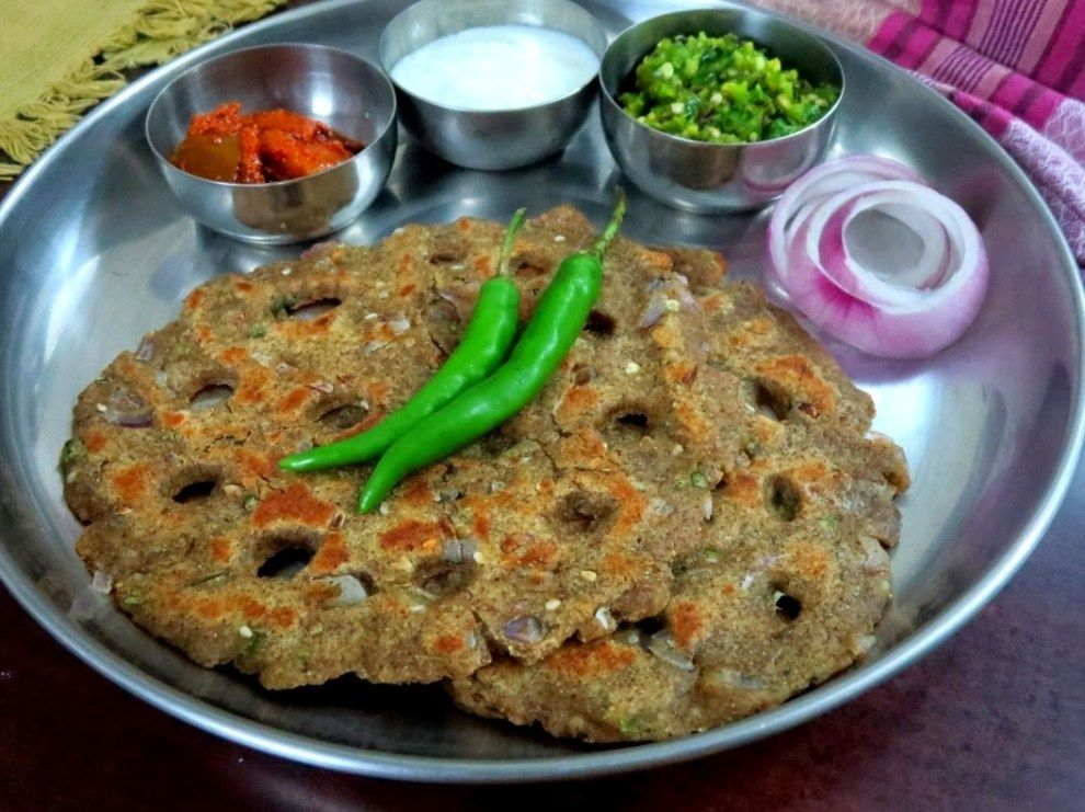 Thalipeeth, Thecha from Maharashtra | Indian food recipes vegetarian,  Indian food recipes, Maharashtrian recipes