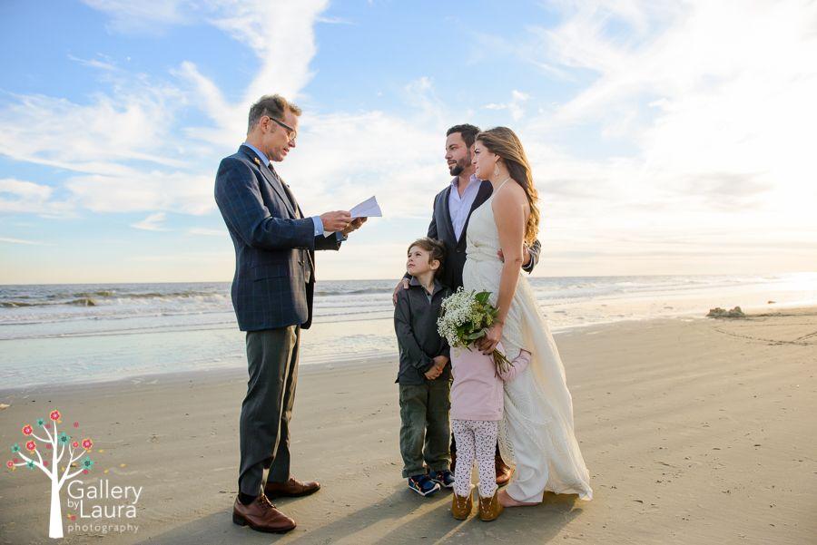 Beach Elopement Charleston Wedding Photographer