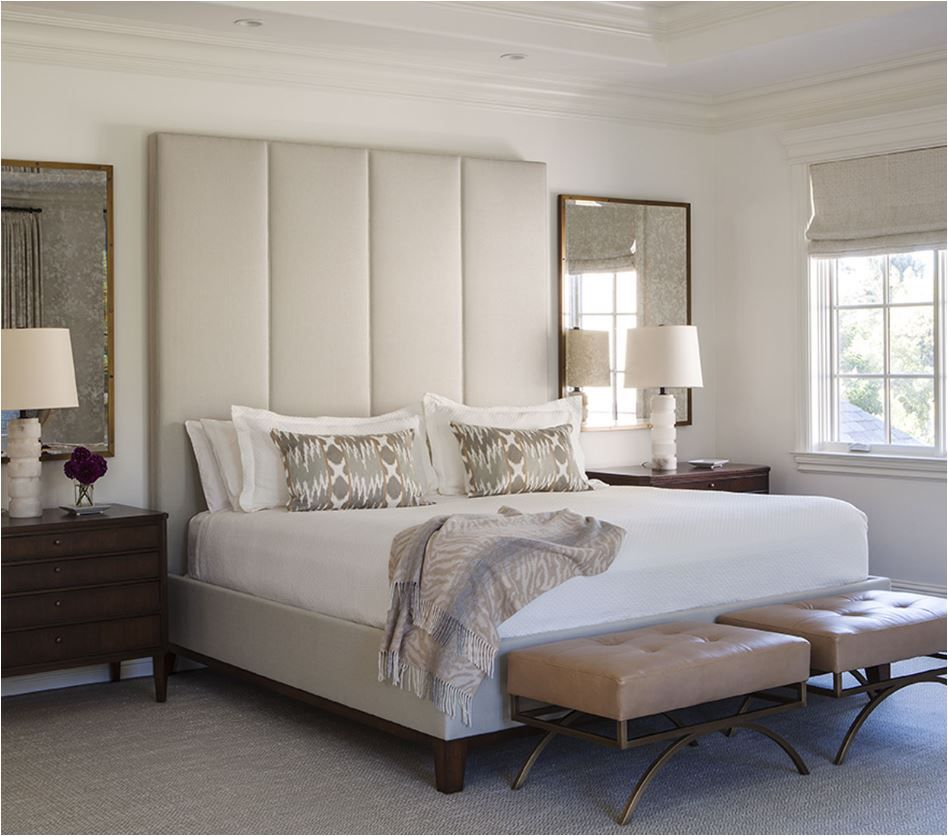 High Back Leather Headboard Bed White Bedroom How To Make Bed