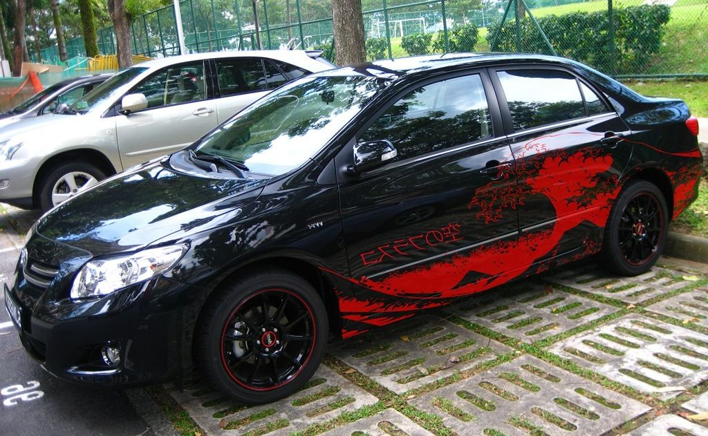 Great Bloody Custom Car Decals Ideas Photo Of Custom Car Decals - Custom vehicle decals