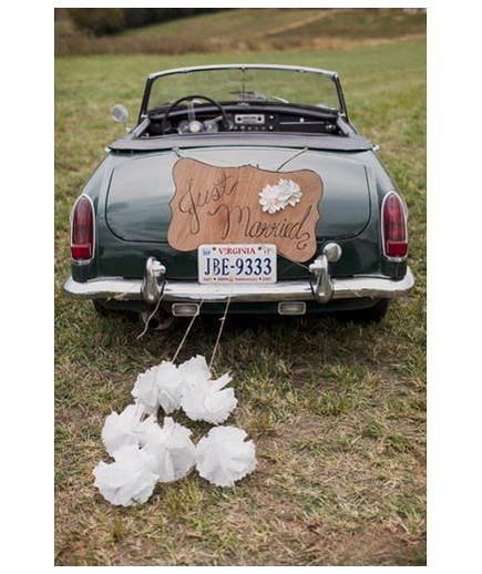 12 wedding day transportation ideas. I still think the Vespa is cool - or a chic-fil-a beetle :)