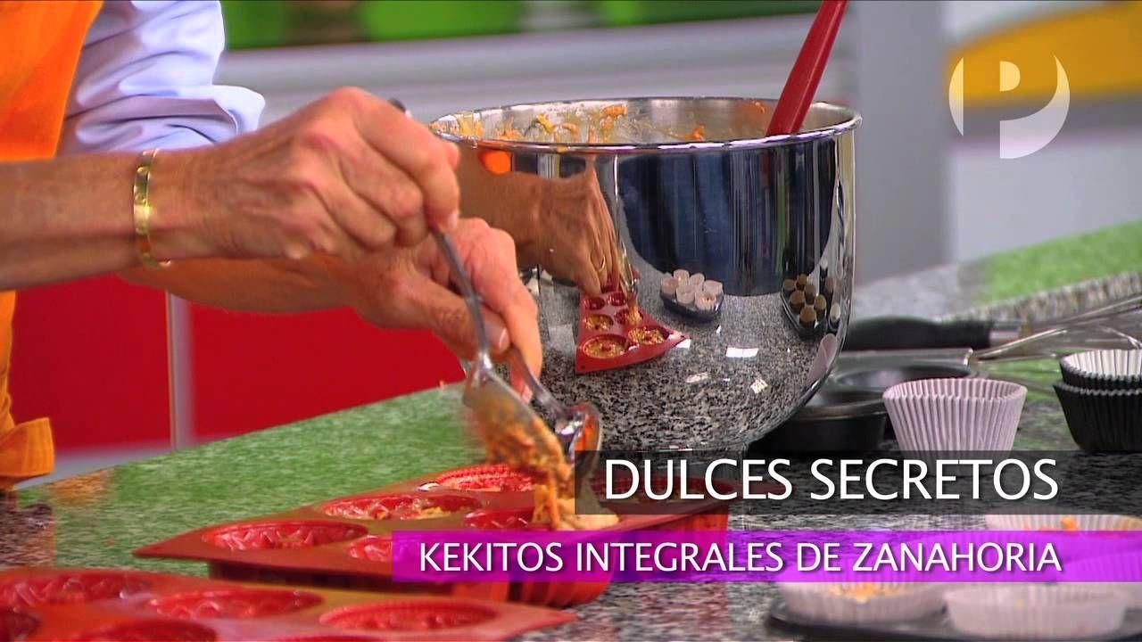 Dulces secretos - Kekitos Integrales de zanahoria