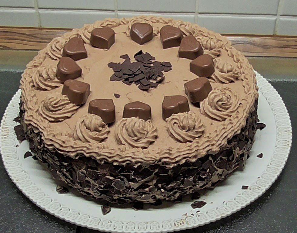 Tort Milka Z Serduszkami Kasia Ze Slaska Gotuje Ciasta