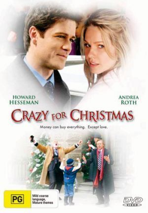 Crazy For Christmas A 2005 Lifetime Movie Shannon Is Stuck Working On Christmas Eve Driving Around An Eccentric We Christmas Movies Xmas Movies Andrea Roth