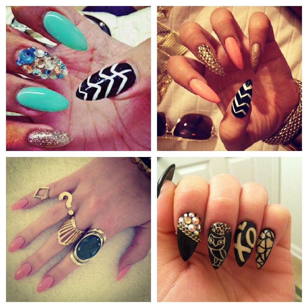 Images Of Rihanna Stiletto Nails Designs - Images Of Rihanna Stiletto Nails Designs !!Nail Craze