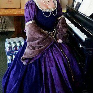 uk12/14 usa 8/10 corset dress net tutu skirt longer at