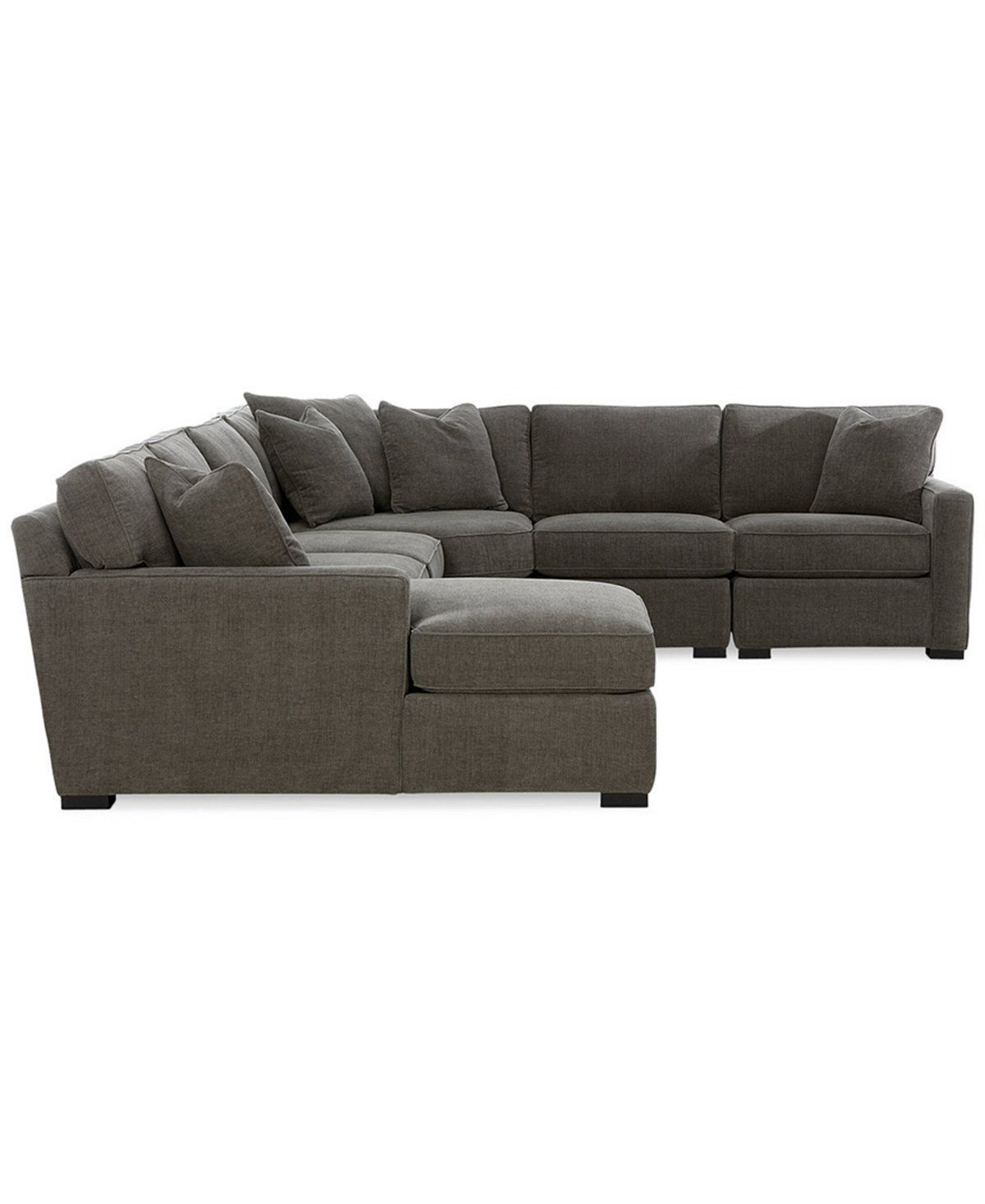 Good Radley 5 Piece Fabric Chaise Sectional Sofa, Created For Macyu0027s   Sectional  Sofas   Furniture   Macyu0027s