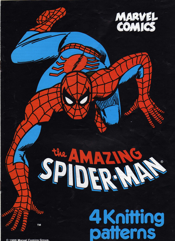 The Amazing Spiderman Jumper PDF Knitting Pattern ...