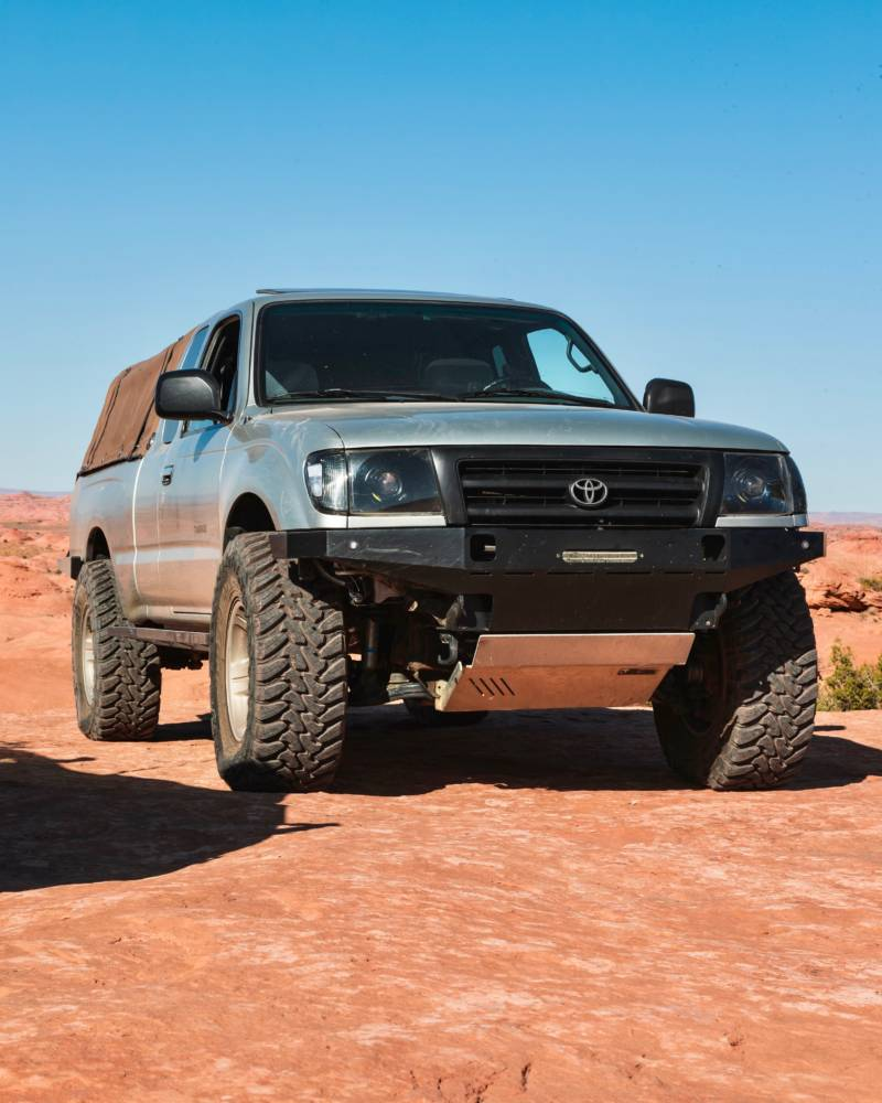 1st Gen Tacoma High Clearance Front Bumper Kit Coastal Offroad In 2020 Tacoma Bumper Weights Tacoma Bumper