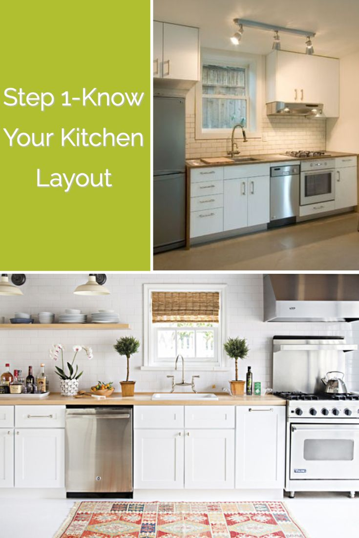 Kitchens usually fit into one of the following categories: one wall,  galley, G-shaped, U-shaped, or… | Kitchen remodel small, Kitchen designs  layout, Kitchen layout