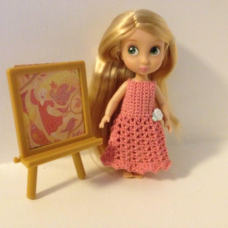 Summer Dress for Disney Mini Animator Doll: Free Crochet Pattern ...
