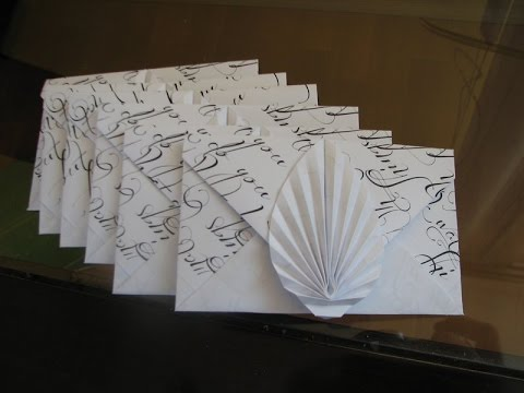 Paper Origami Fan Instructions - YouTube | Origami hand, Useful ... | 360x480