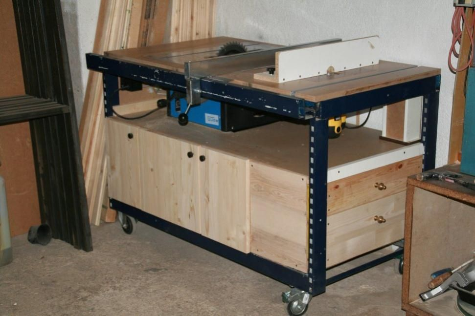 Table saw router combo work tables pinterest woodworking router table greentooth Image collections