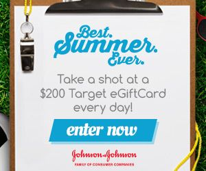 Chance to WIN a $200 Target eGift Card from Johnson