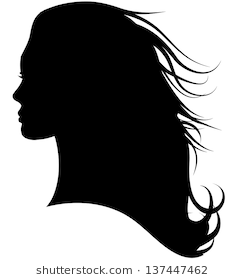 Image Result For Side Profile Face Woman Silhouette Female Profile Silhouette Woman Silhouette