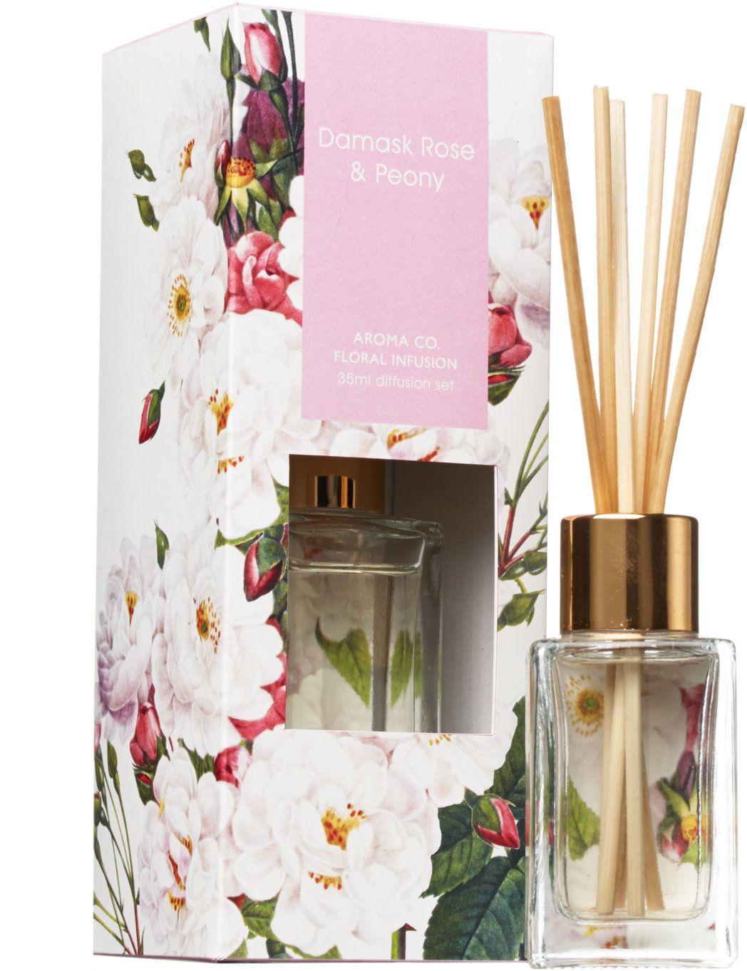 Aromatherapy Company Damask Rose amp Peony 35ml Diffuser