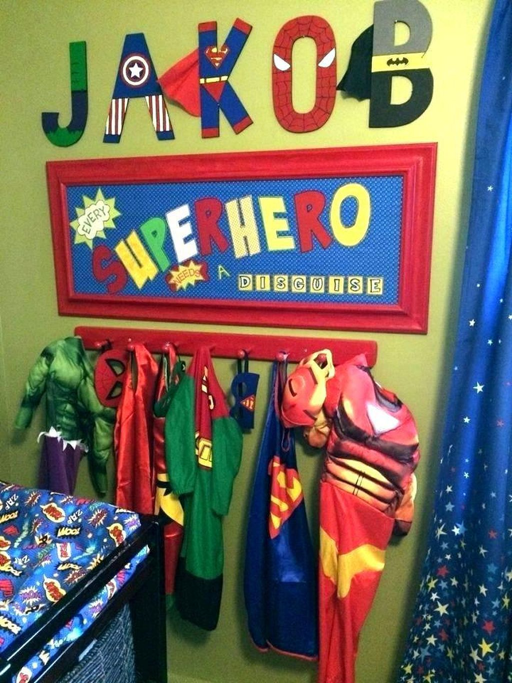 Superhero Room Design: Pin By Home And Garden Decor On Bedroom Decoration Cosy