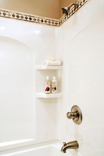 fiberglass shower