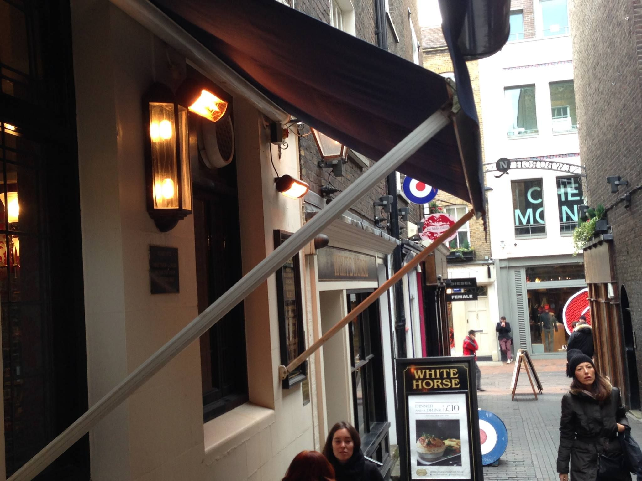 Found a BN Thermic #PatioHeater in Soho this weekend!