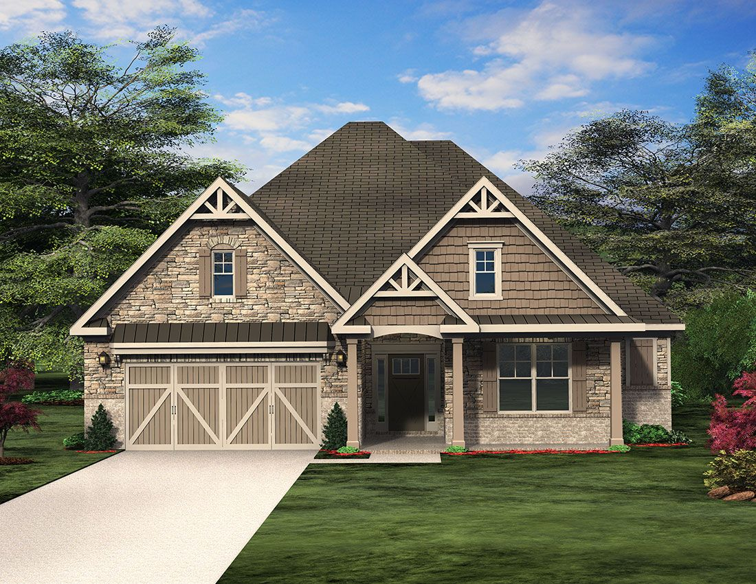 Bradford Cottage Floor Plan Paran Homes Cottage Floor Plans