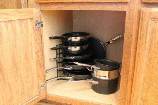 Kitchen Organizing Ideas Pots And Pan Storage
