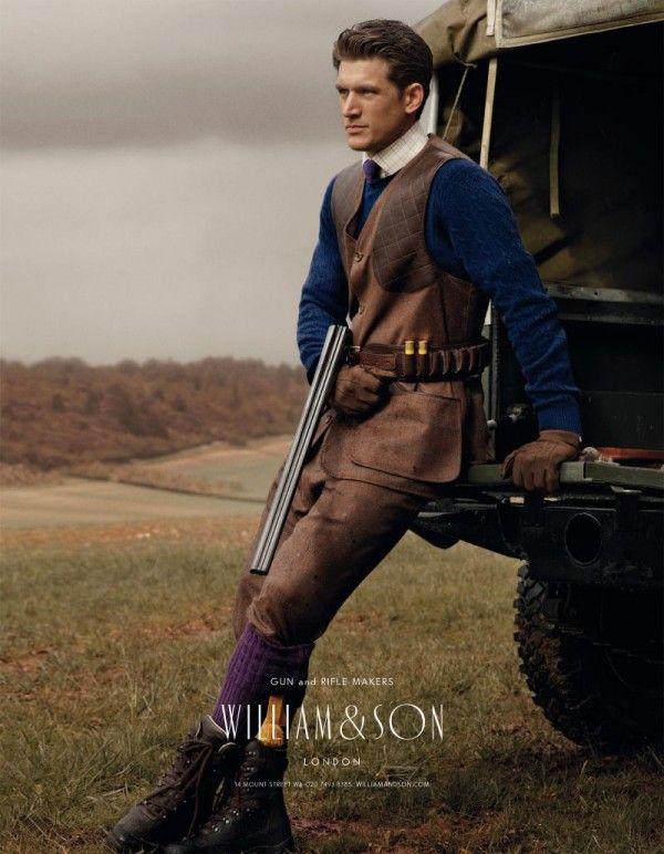 Стиль  сельский британский джентльмен.  la gatta ciara William   Son зима  2012-2013 1ca45fa04cc