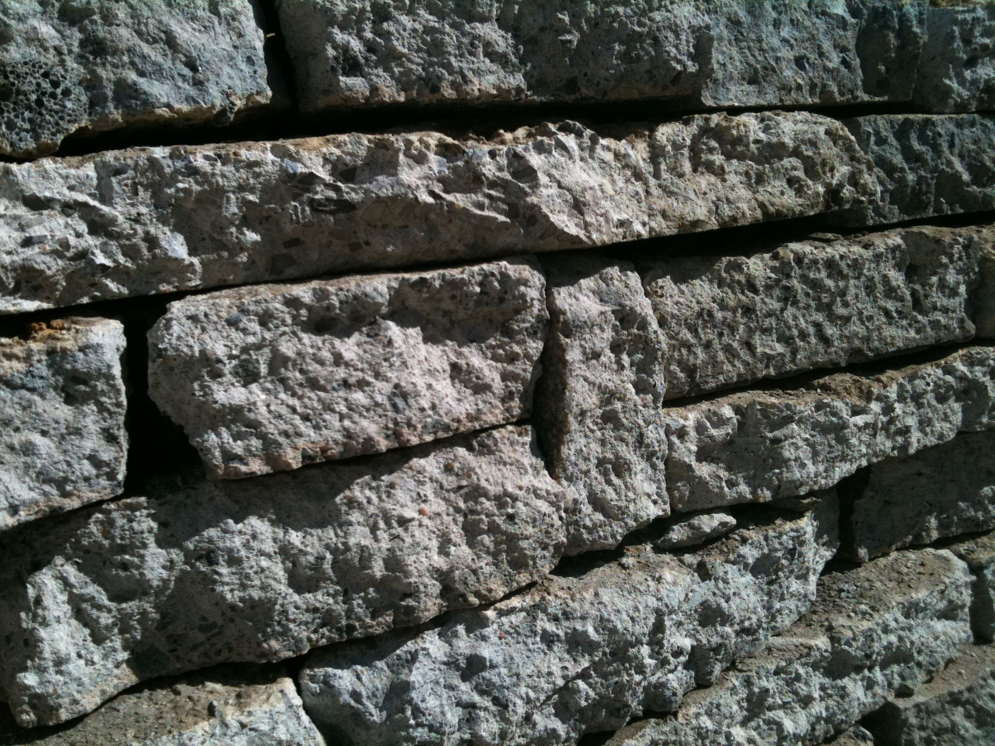 Recycled concrete wall greenneck genius pinterest for Recycled wall