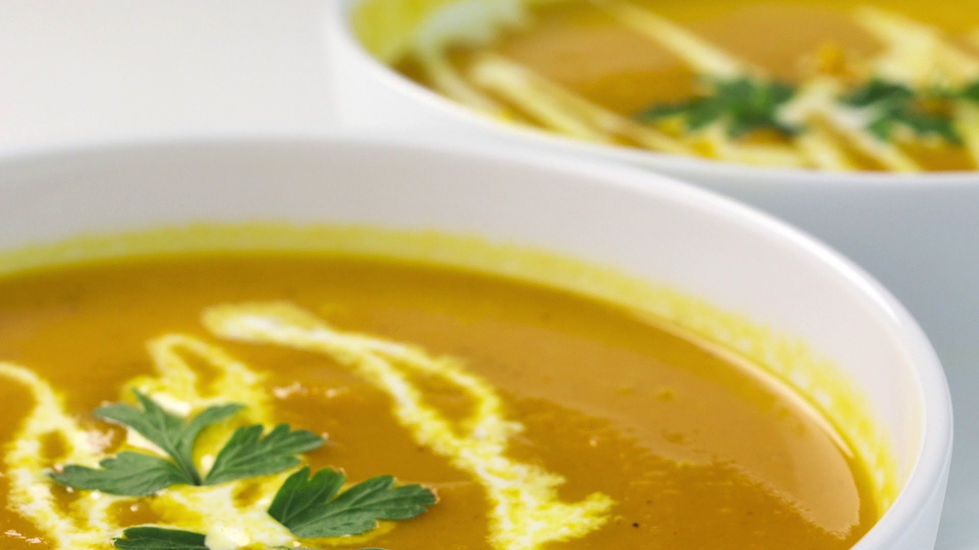 Como fazer sopa de abóbora