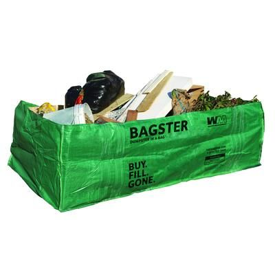 Waste Management Bagster Dumpster In A Bag 3cuyd Home Depot Canada