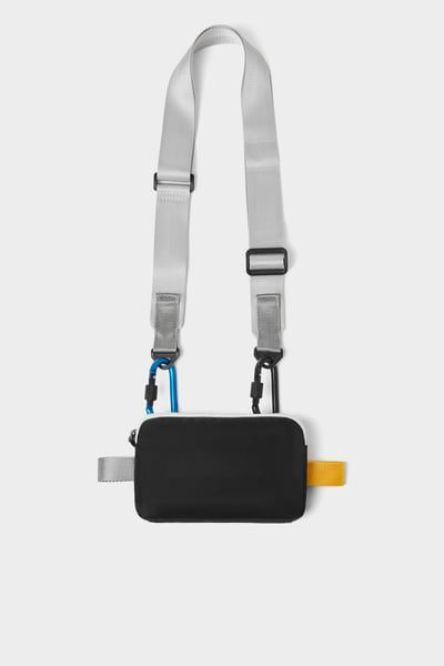 Cell Phone Case With Color Trim Crossbody Bags For