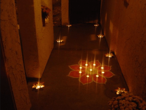 Diwali House Decoration Ideas Items Rangoli Lights Special Design Candles Diye Lamp Bulb