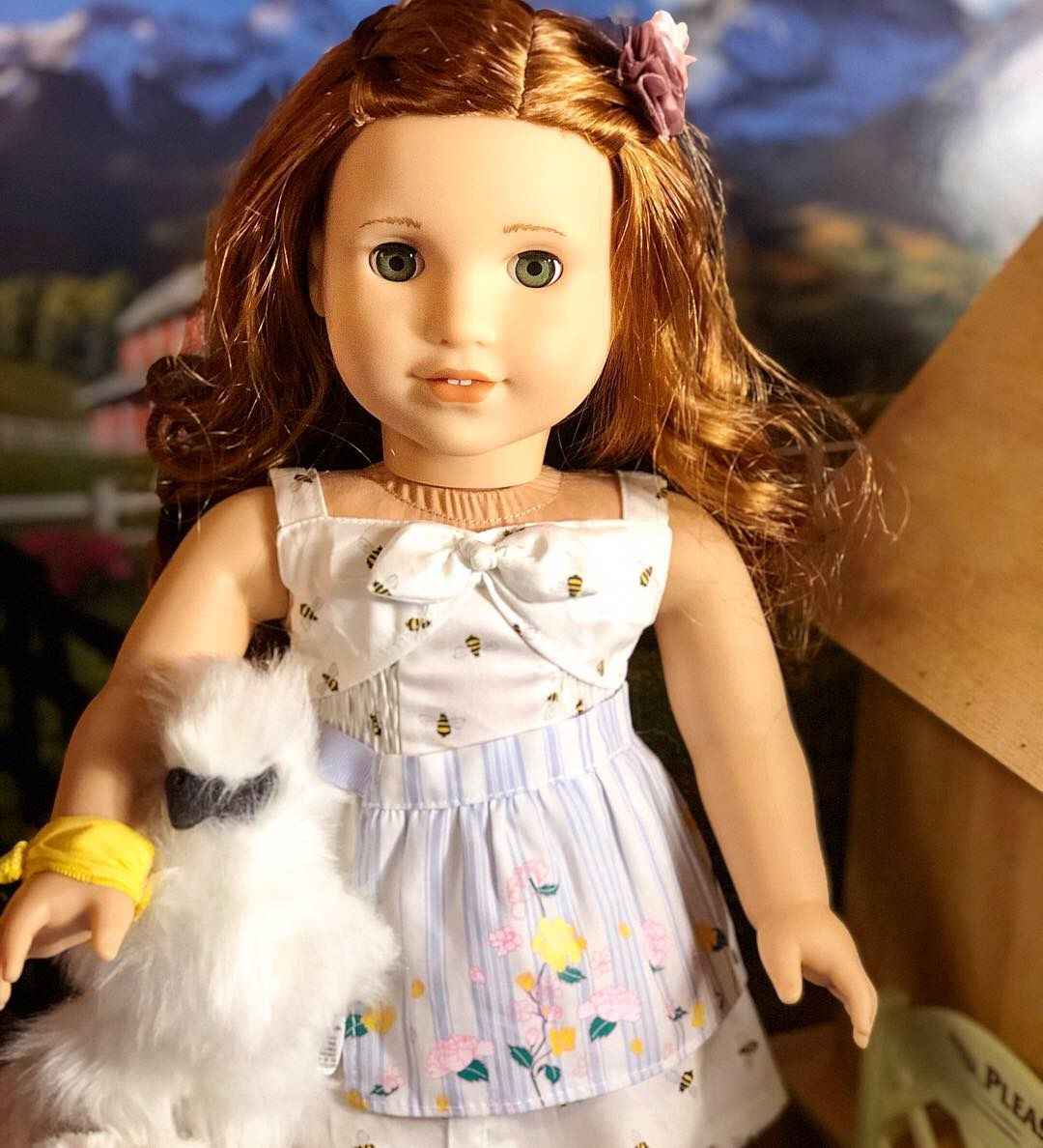 American Girl Doll Blaire Meet Hair Flower