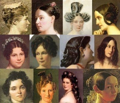 The Way Of The Hair A Visual History Of Hairstyles 1800s Hairstyles Hair Styles Historical Hairstyles